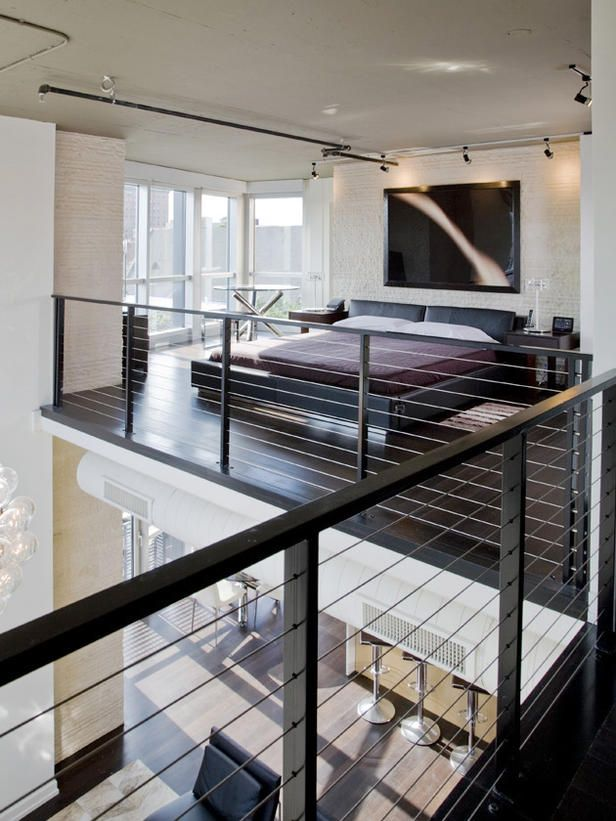 High Hopes Tucked away in a loft, this bedroom is as fun as a treehouse, but with the style of a penthouse suite.