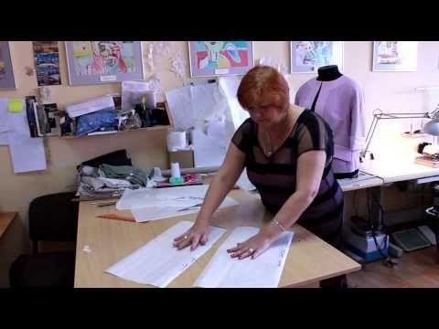 (1) Выкройка юбки. Как сшить юбку. Методом макетирования - YouTube