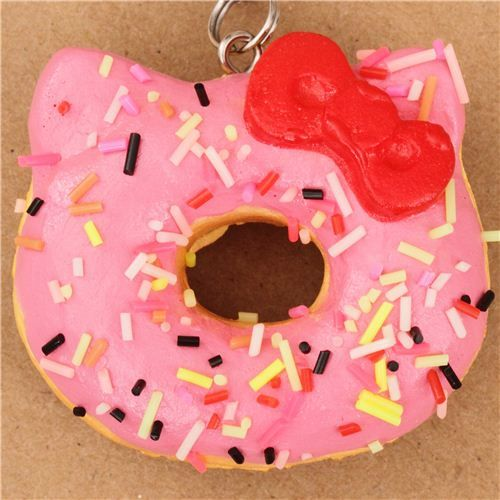 Diy Squishy Hello Kitty : 17 Best images about SQUISHIES!!!!!!! on Pinterest Donuts, Homemade and Strawberry cream cakes
