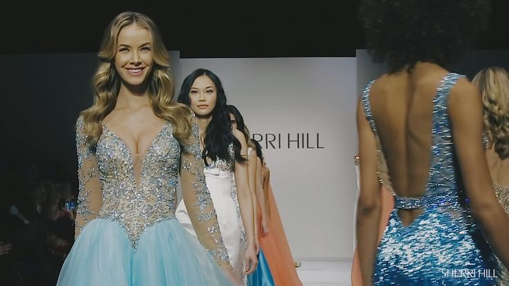 SHERRI HILL Fall 2016 Runway Show | NYFW