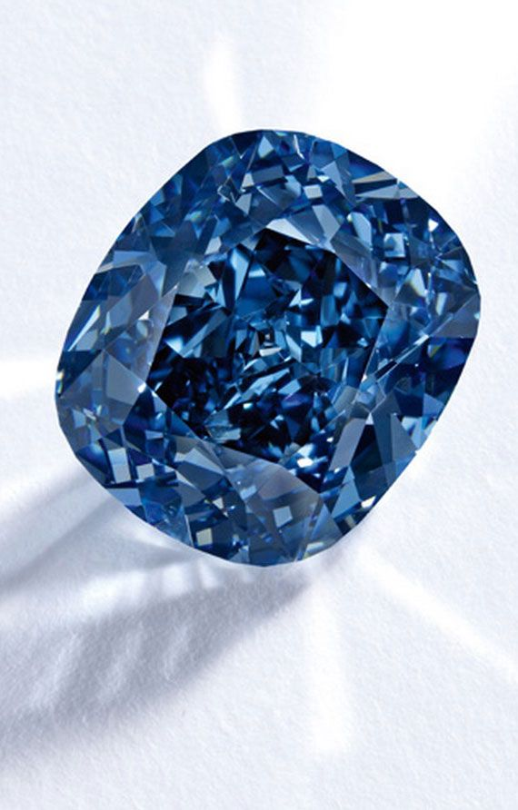 The world's most expensive diamond (and most expensive gem ever sold at auction): The Blue Moon Diamond sold for $48 million. At 12.03 carats, that's $4 million per carat!