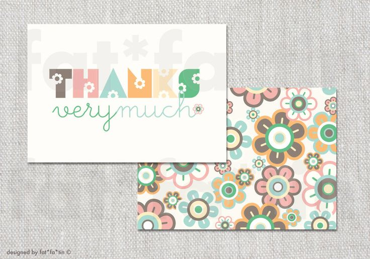 Pastel Candy Daisies Baby Shower Thank You Card   Custom Whimsical Daisy Flowers Thanks Birthday Bridal Shower Wedding PRINTED /PRINTABLE by fatfatin on Etsy https://www.etsy.com/listing/191156719/pastel-candy-daisies-baby-shower-thank