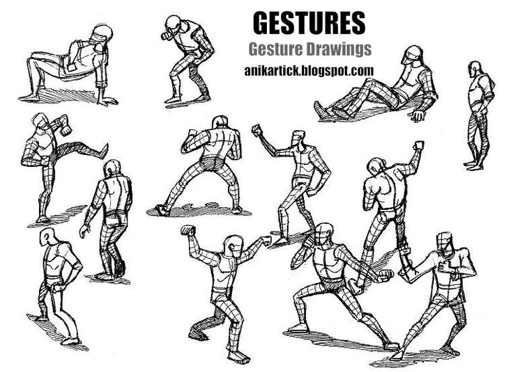 Scribble Gesture Drawing : Best art gesture stick figure shaping images on
