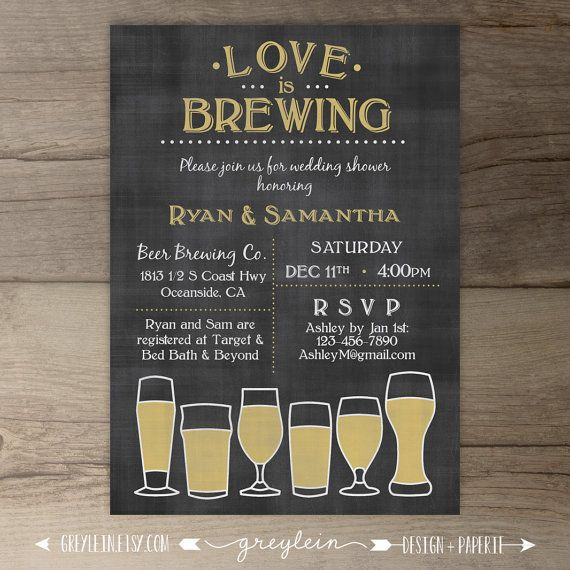 Best 25+ Beer wedding invitations ideas on Pinterest Beer - free engagement party invites