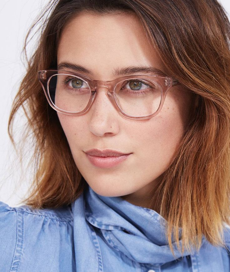 Warby Parker - Blush Toned Glasses.  j'adore!