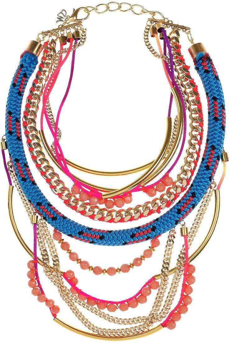 Assad Mounser|Shiprock gold-plated multi-chain necklace|NET-A-PORTER.COM