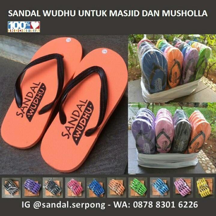 Bismillahirahmanirrahim.. Sandal Jepit untuk Berwudhu. Bahan dari spons EVA.  HARGA GROSIR Rp 220.000 per kodi (20 pasang)  Asli buatan dalam negeri. Produksi usaha kecil menengah di kab Tangerang provinsi Banten.  Barang READY STOCK  HP / WA : 0878 8301 6226  Line ID sandal.serpong  BB : D05DEF2B  Email : sandal.serpong@gmail.com  Follow IG @sandal.serpong.. Follow IG @sandal.serpong.. Follow IG @sandal.serpong.. Sebagai sarana berinfaq untuk masjid dan musholla di kantor di kampus di…