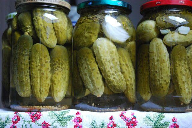 Domowe przetwory z warzyw i owoców: Ogórki konserwowe - odpowiednio słodkie