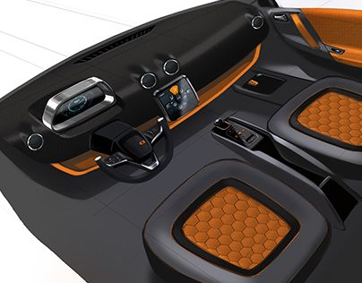 """Check out new work on my @Behance portfolio: """"Simple car interiors."""" http://on.be.net/1RC4fuF"""
