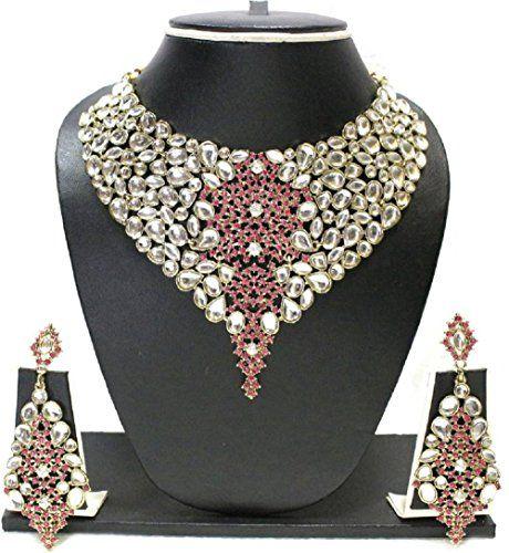 Amazing Indian Bollywood Gold Plated Pink Stone Wedding K... https://www.amazon.com/dp/B01N5P0OZI/ref=cm_sw_r_pi_dp_x_z4AGzb6G60B5R