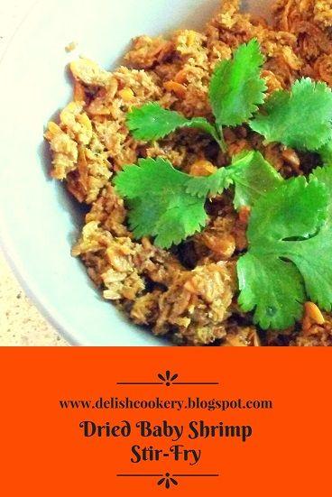 Dried Baby Shrimp Stir-Fry recipe/Kooni Karuvaadu recipe #babyshrimp #driedbabyshrimp #kooni #karuvaadu #karuvadu #fish #recipe #koonifish #koonikaruvadu #stirfry #driedbabyshrimpstirfry #delishcookery #food #tasty #healthy #dryfish #dryfishrecipe #protein #healthyeats