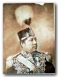 The XI Sultan of Siak, Tengku Ngah Syed Hashim.