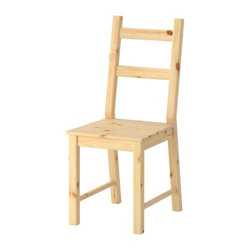 IVAR Stoel IKEA Massief hout is een slijtvast natuurmateriaal dat indien nodig geschuurd en afgewerkt kan worden.