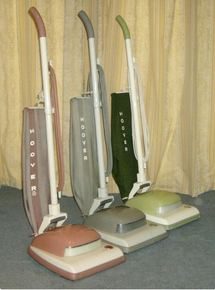 1960s - Vintage Hoover upright vacuums http://www.cleaningwife.com/product-category/canister-vacuums/