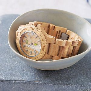 Wooden Watch - best gifts for teenage boys