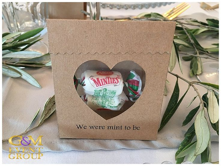 O'Reillys Canungra Valley Vineyards    Wedding Gift Idea    We are Mint to be    Minty #weddinggift #WeddingIdea #countrywedding #guest #gift #vineyardwedding #minty