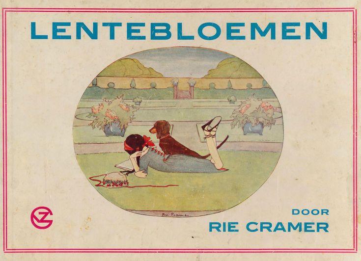 All sizes   Rie Cramer Lentebloemen 1914 ,cover   Flickr - Photo Sharing!