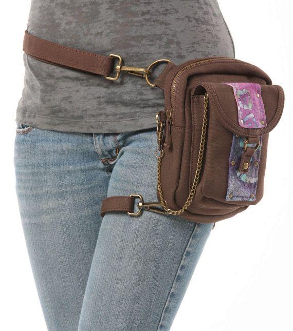 Sunset Canvas Holster Pack- Thigh Holster, Protected Purse, Shoulder Holster, Handbag, Backpack, Purse, Messenger Bag, Fanny Pack