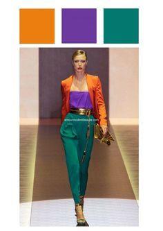 Les couleurs qui vont ensemble pour s'habiller - Guide intégral ! en 2020   Couleur qui vont ...