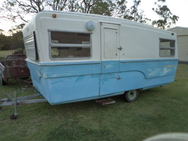 Vintage 16ft Olympic Riviera Fibreglass Caravan - Australian We purchased  our van in October 2013 but the work never started till the following  March. Happy to say it took 18 months of weekend work before being fully restored to what she is today.