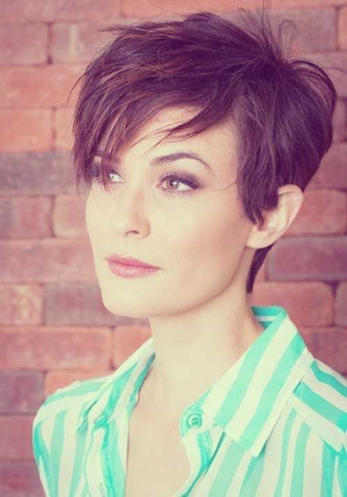 156 Best Short Haircuts For Fine Hair Images On Pinterest Cut Style And Pixie Cuts