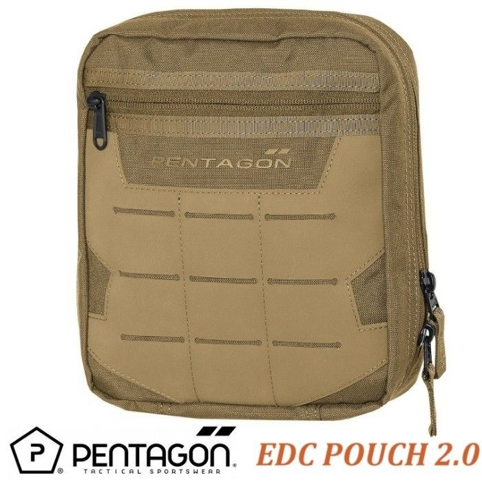 PENTAGON EDC 2.0 Pouch -Coyote