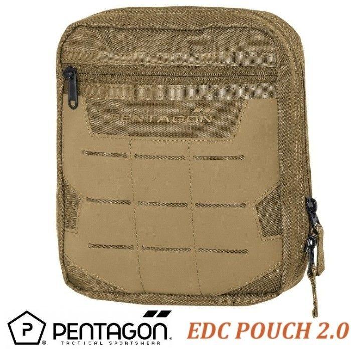 PENTAGON EDC 2.0 Pouch -Coyote