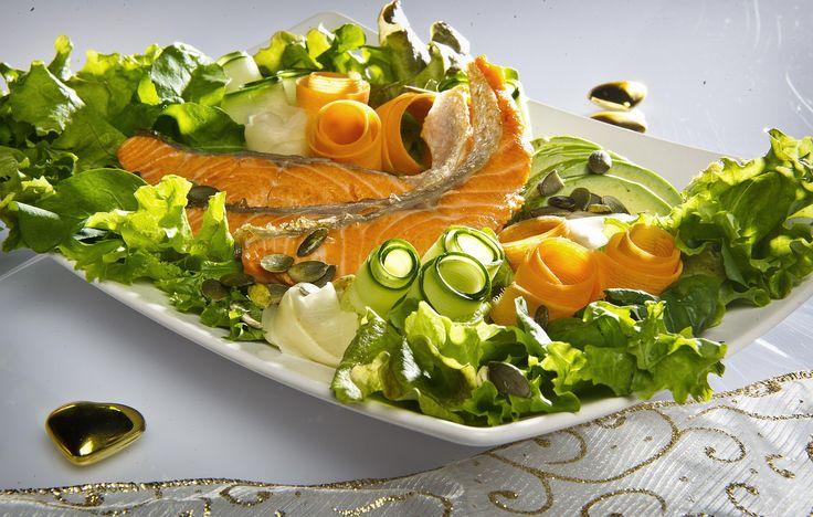 Raikas salaatti pienellä twistillä!
