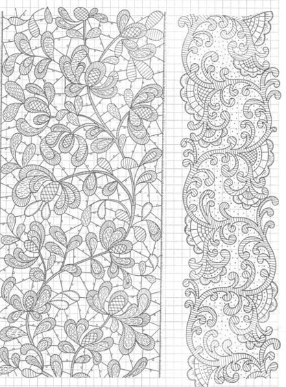 needle lace designs