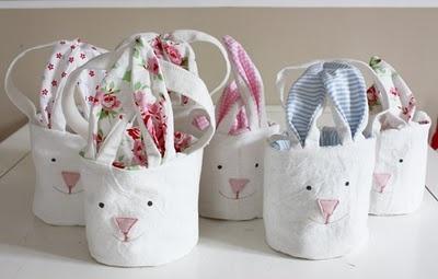 Hasentaschen für Ostern