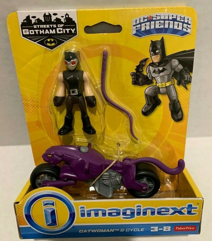 New Imaginext Fisher Price DC Super Friends Catwoman