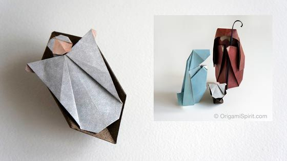Post image for How to Make an Origami Nativity Scene: The Child –Part 3 of 3