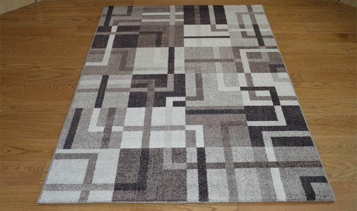 Tappeto geometrico stile anni 70