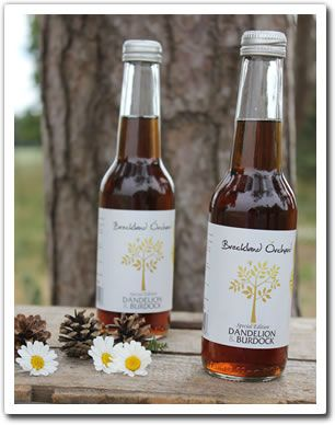 Dandelion & Burdock Posh Pop from Breckland. They've loads of superb flavours, try them out!