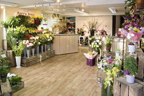 florist shop interiors | Frank Page Photographer: Flower Shop