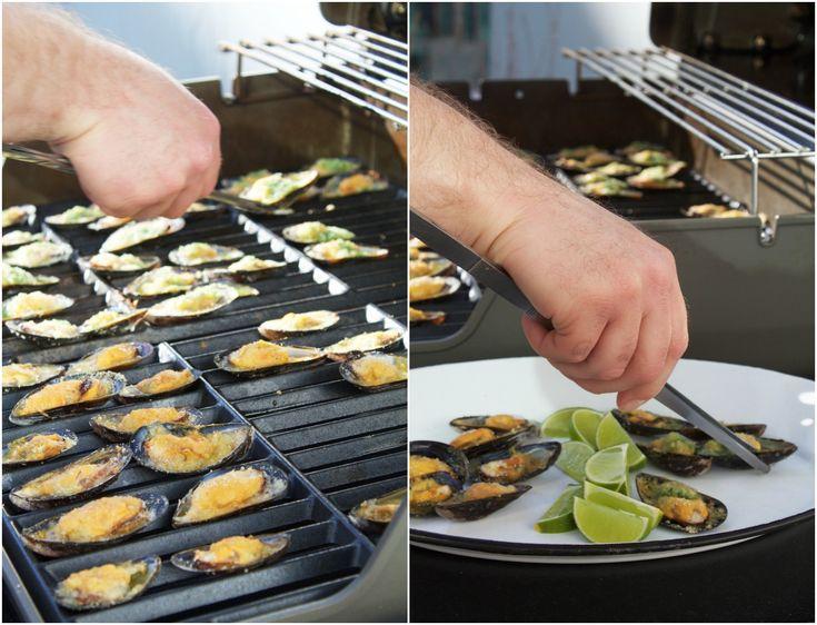 Grillede muslinger // Grilled moules