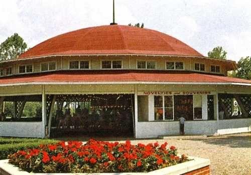 Riverview Park Des Moines Photos VI Carousel building