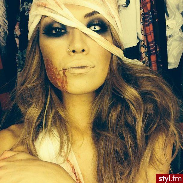 halloween inspired make up