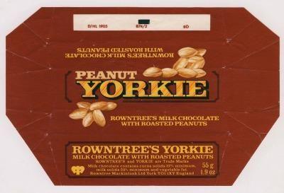 Rowntree's Peanut Yorkie Bar