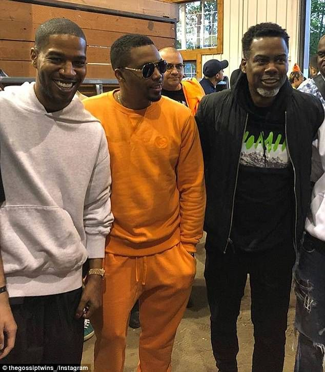 Kanye West Hosts Listening Party For New Album Ye At Wyoming Ranch Kid Cudi Kanye West Chris Rock