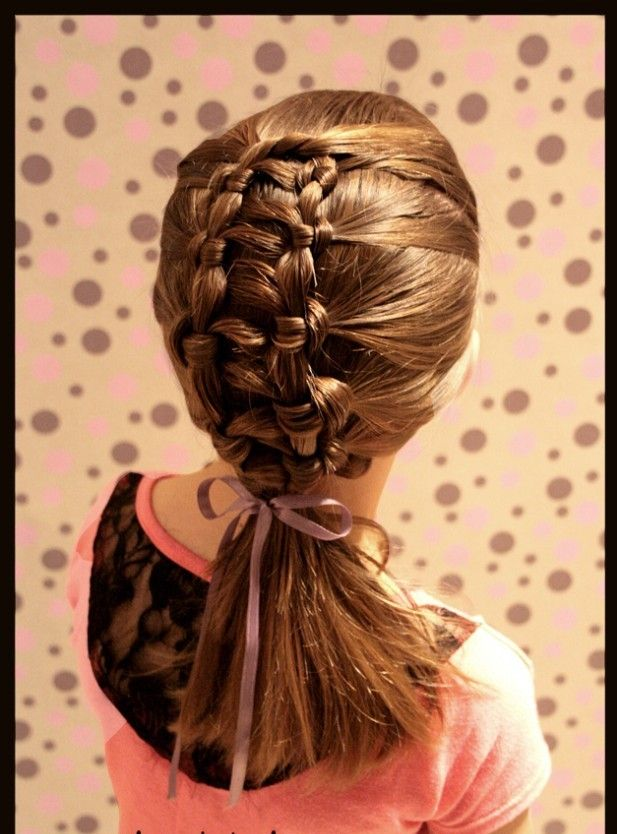 I would love to learn to do this to my daughters hair! 25 Cute Hairstyle Ideas for Little Girls