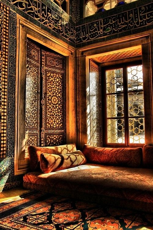 Once upon a time a Sultan was looking out of that window.  *  *  *  *  *  Topkapı Palace, Istanbul, Turkey.