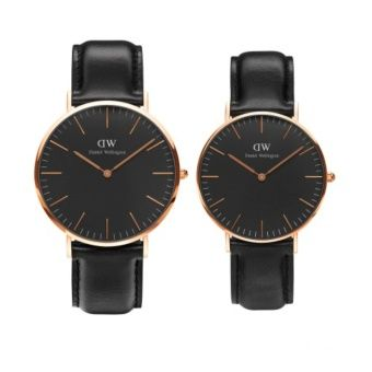Buy Daniel Wellington Classic Black Sheffield 40mm & 36mm RG online at Lazada Singapore. Discount prices and promotional sale on all Casual. Free Shipping.