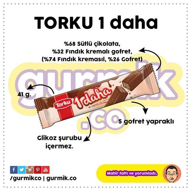"""Torku'nun ürün yelpazesinde bulunan """"1 daha"""" çikolatasını 1 kez daha yemek isteyeceksiniz. :) #torku #1daha"""