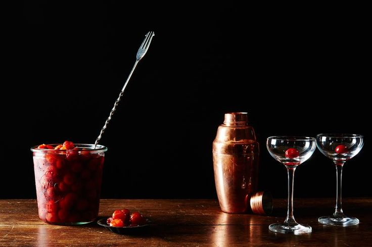 How to Make Cocktail Cherries: The secret to the perfect cocktail cherry? Sour cherries and vinegar.