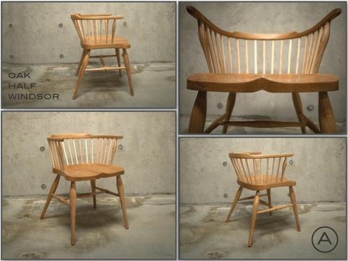Oak - Half-Windsor Chair