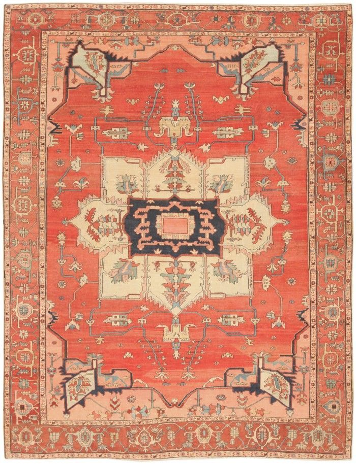 Antique Persian Serapi Rug 46424 Main Image   By Nazmiyal