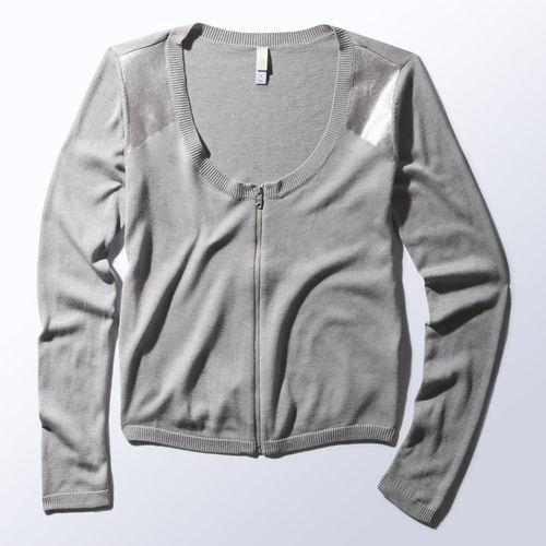 adidas - Zip Cardigan Medium Grey Heather S13763