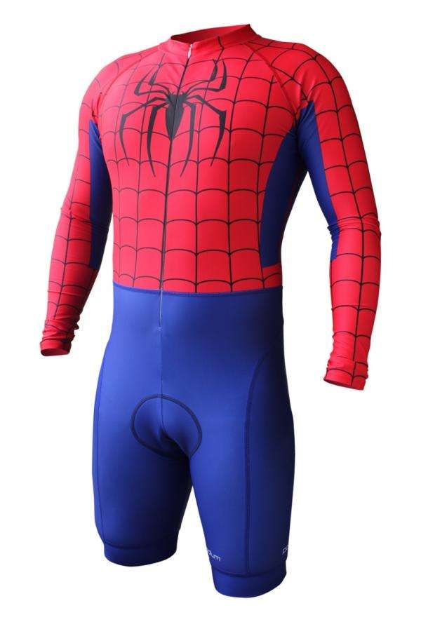 Super Hero Cycling Suits......awesome