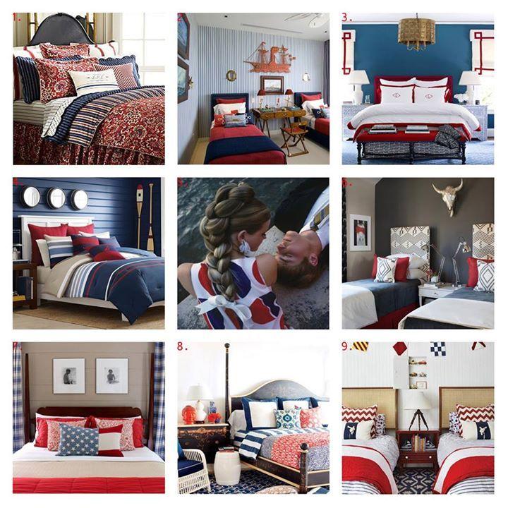 httpifttt1WUOYu5 RED WHITE u0026 BLUE BEDROOMS 1